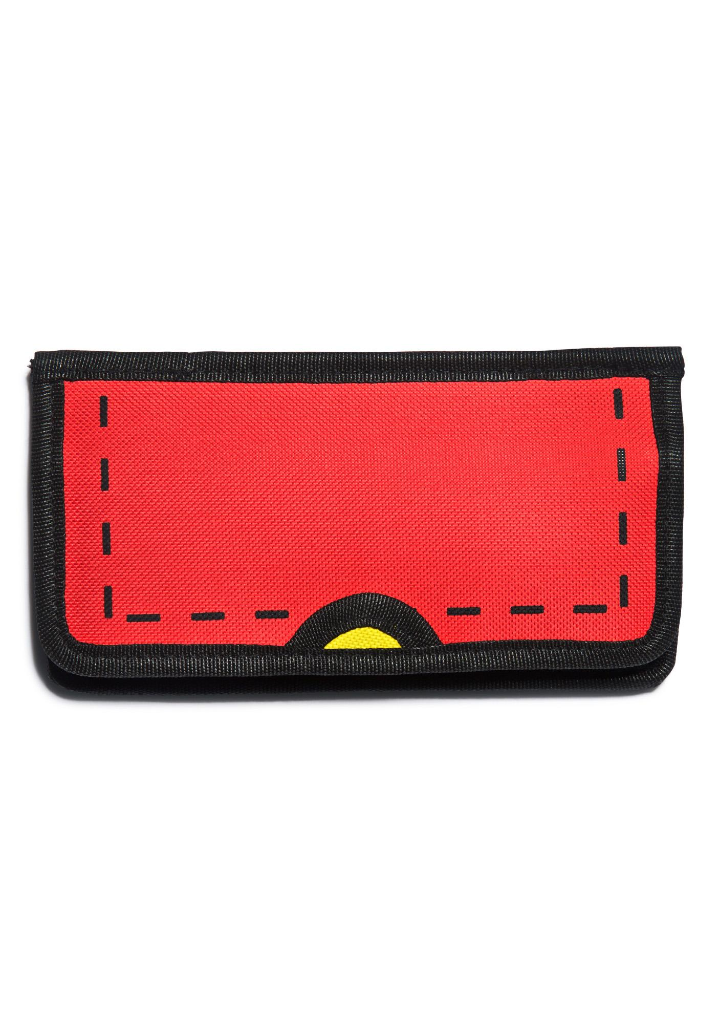 Gimme Ur Lunch Money Cartoon Wallet