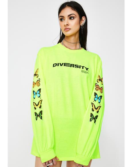 Diversity Long Sleeve Tee