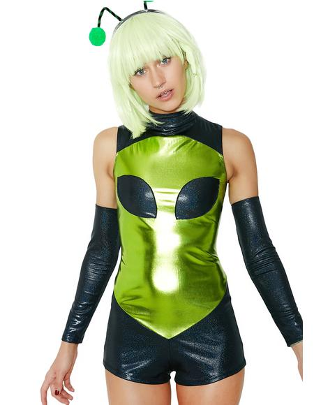 Space Bae-lien Costume Set