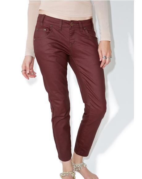Bordeaux Freebird Jeans