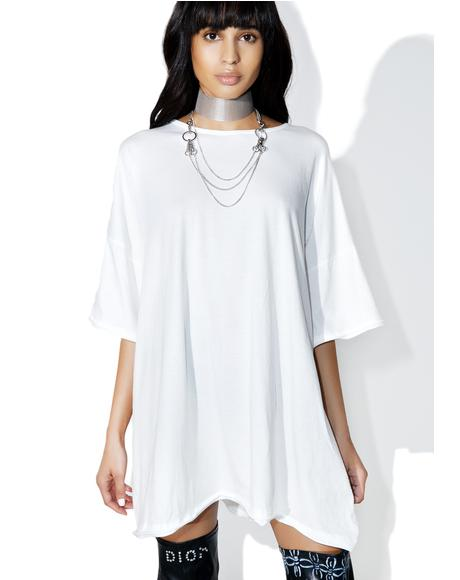 Ebb & Flow Oversized Tee Dress