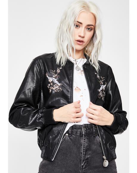 Undercover Sweetheart Bomber Jacket