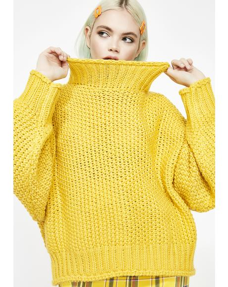 Sunny Baby Darling Turtleneck Sweater