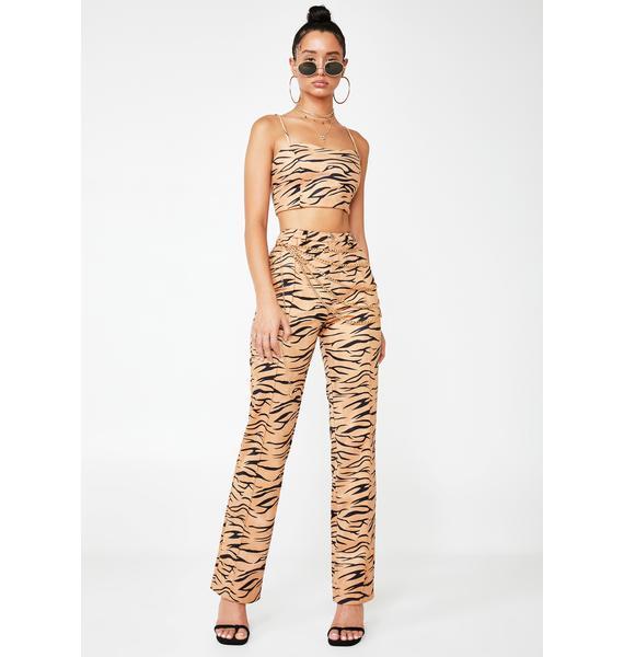 Tiger Mist Indra Zebra Trousers