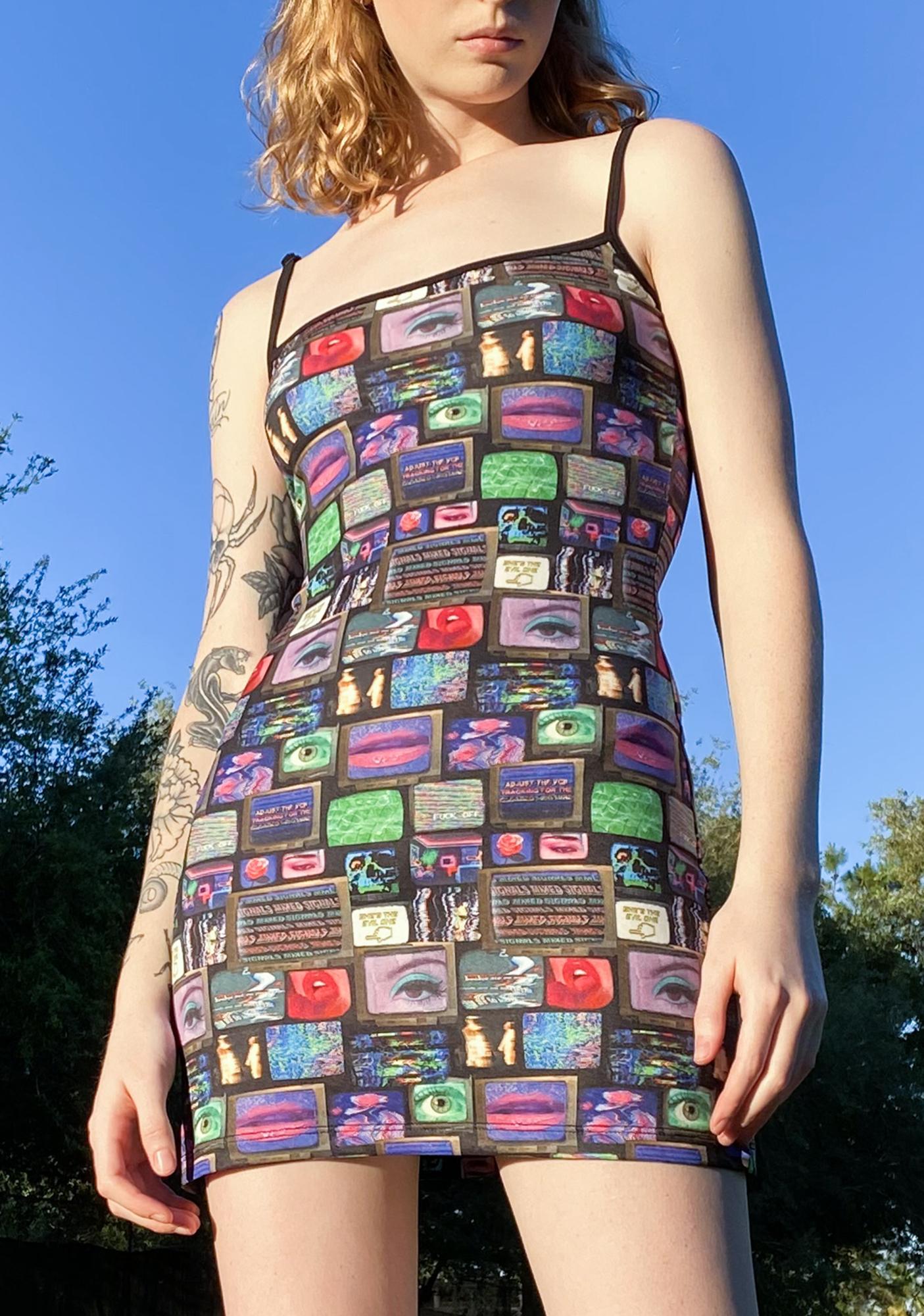 HOROSCOPEZ Technical Difficulties Mini Dress