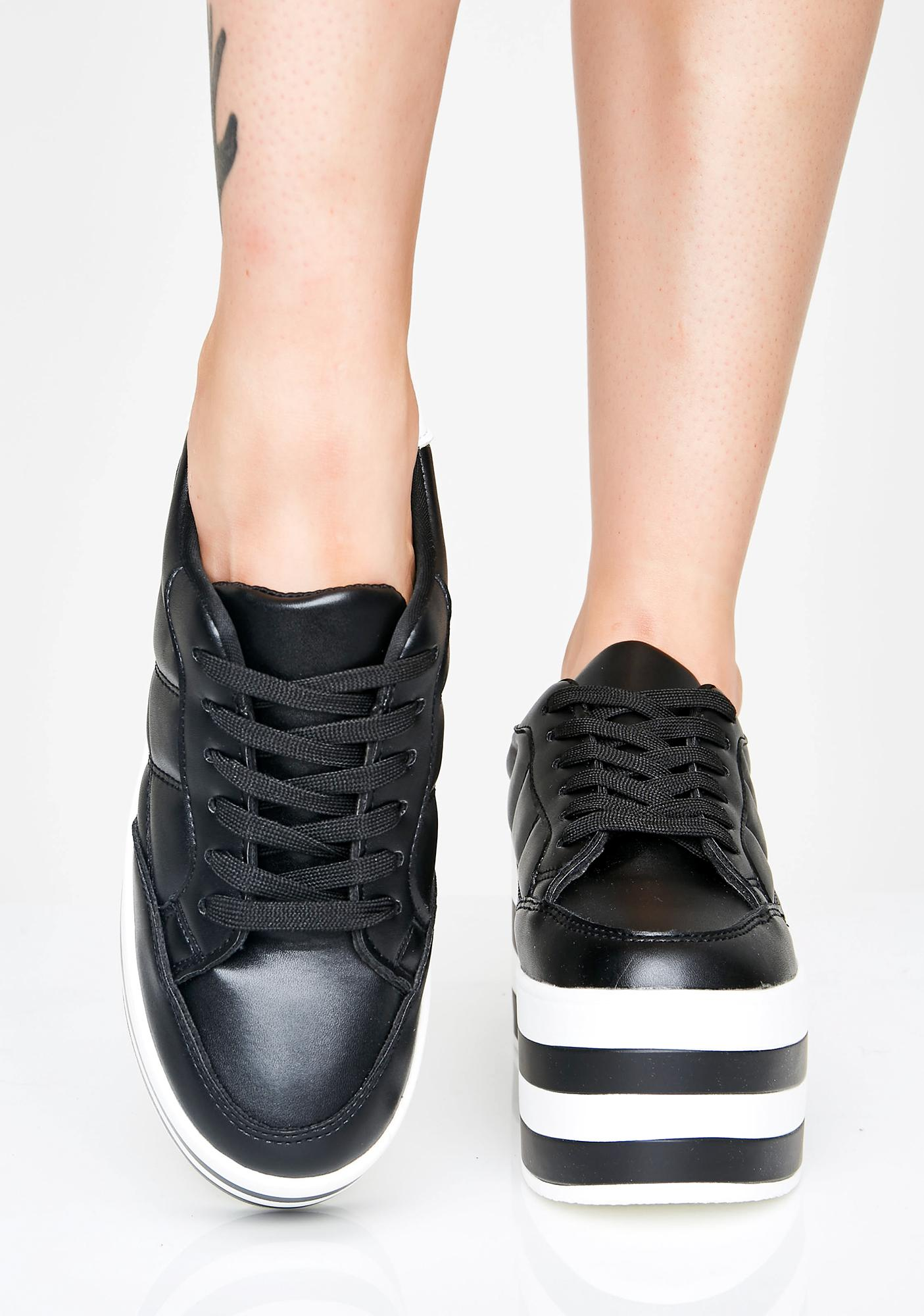 Stay Elevated Platform Sneakers