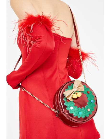Jolly Wreath Crossbody Bag