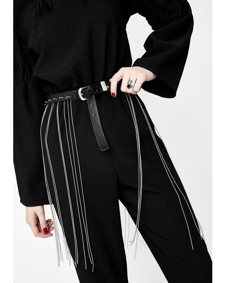 Candid Shot Fringe Belt