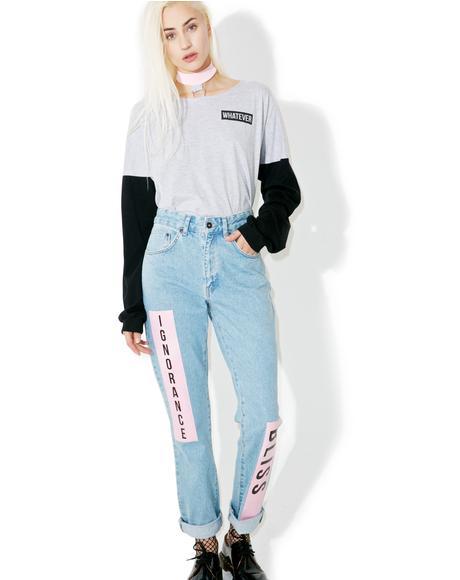 Euphoria Mom Jeans