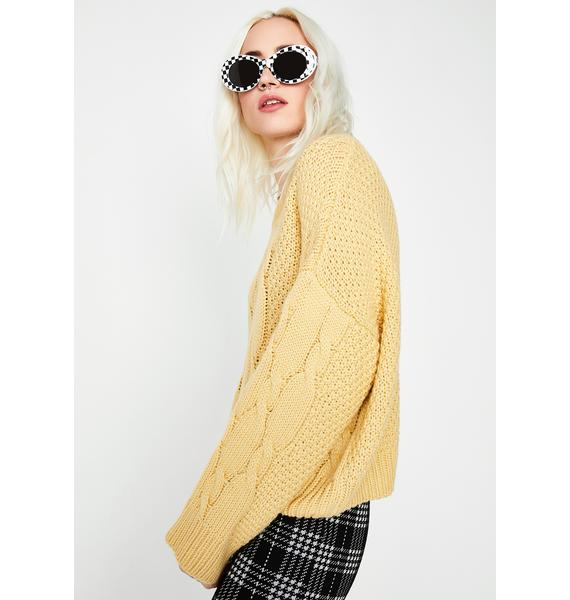 Sun Beam Knit Sweater