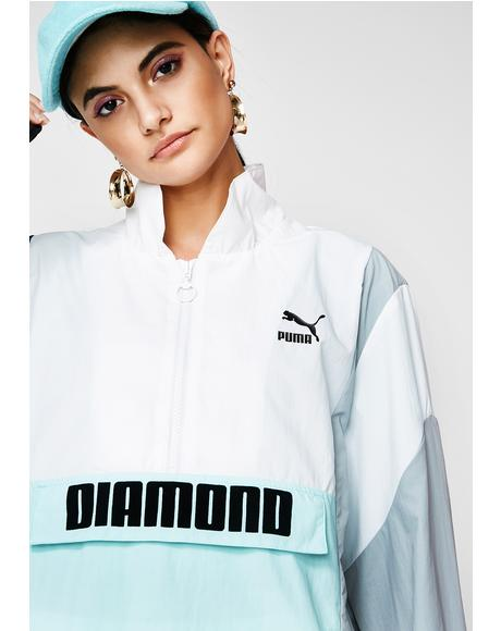 X Diamond Savannah Windbreaker