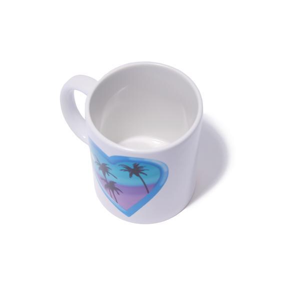 Laser Kitten Paradise Mug