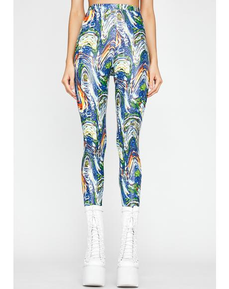 Chronic Fusion Printed Leggings