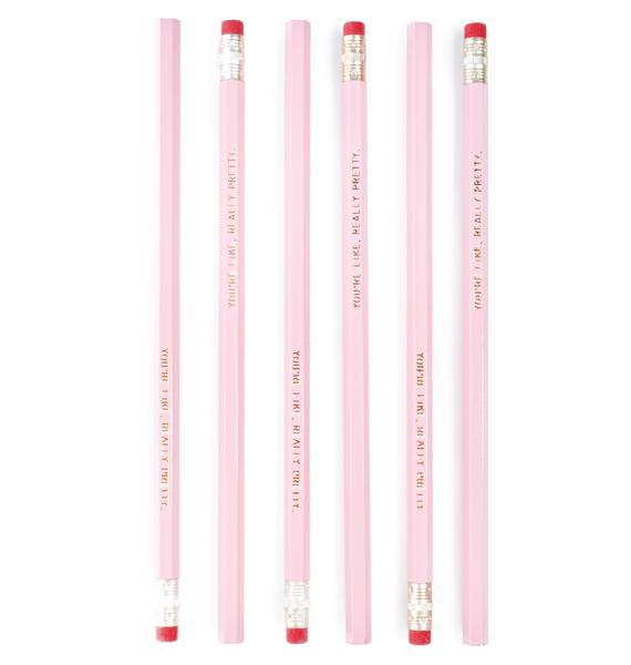SugarLuxeShop Like, Really Pretty Pencils