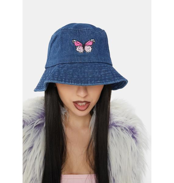 Flight Risk Denim Bucket Hat