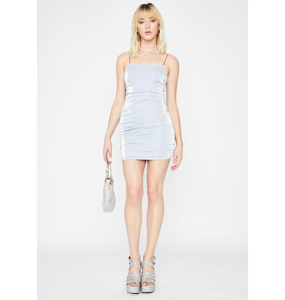 Icy Miss Limelight Ruched Dress