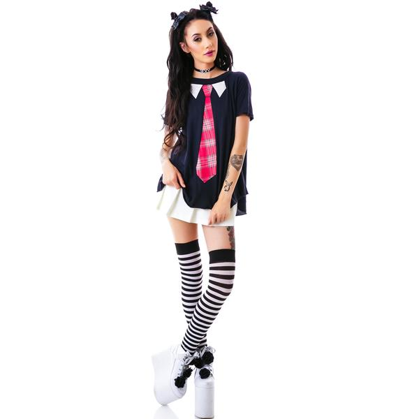 Wildfox Couture School Girl Retro Raglan
