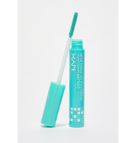 NYX  Mint Julep Color Mascara
