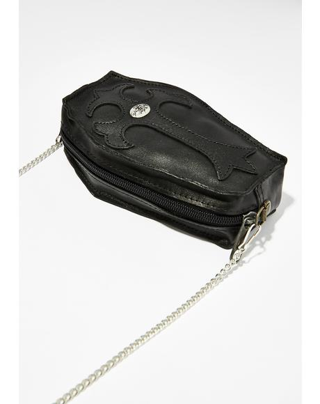 I'm Dead Coffin Purse