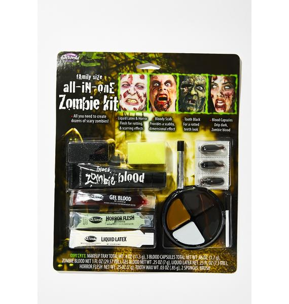 Zombify Me Makeup Kit