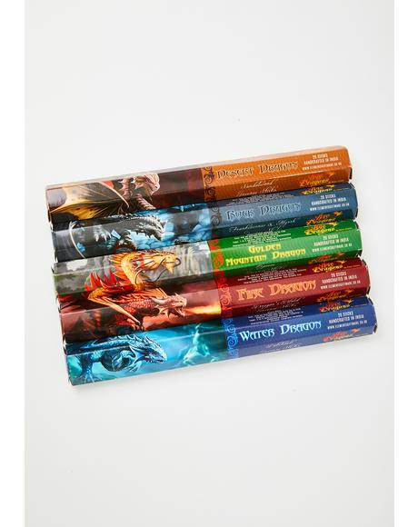 Dragon's Breath Incense Pack