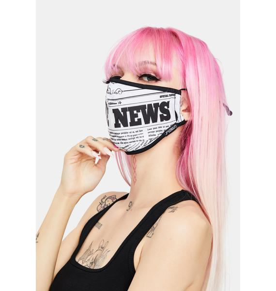FYDELITY Fake News Face Mask