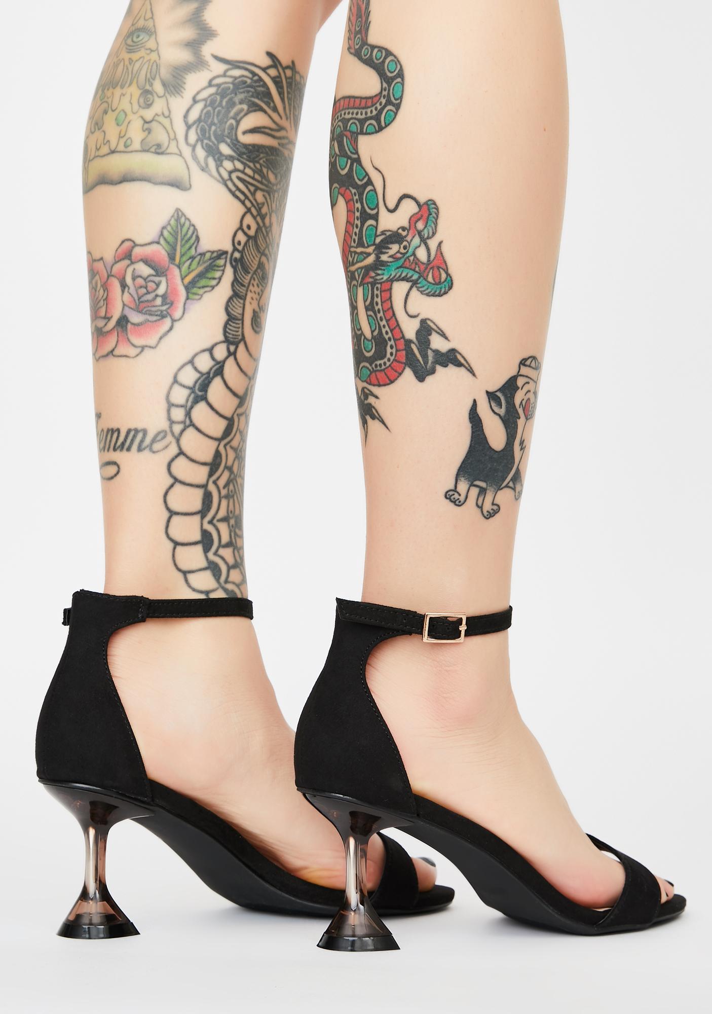 Sassy Love Peep Toe Heels