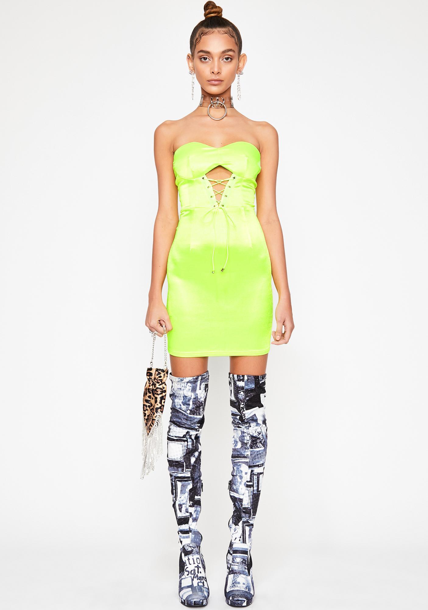 I'm Trouble Corset Dress