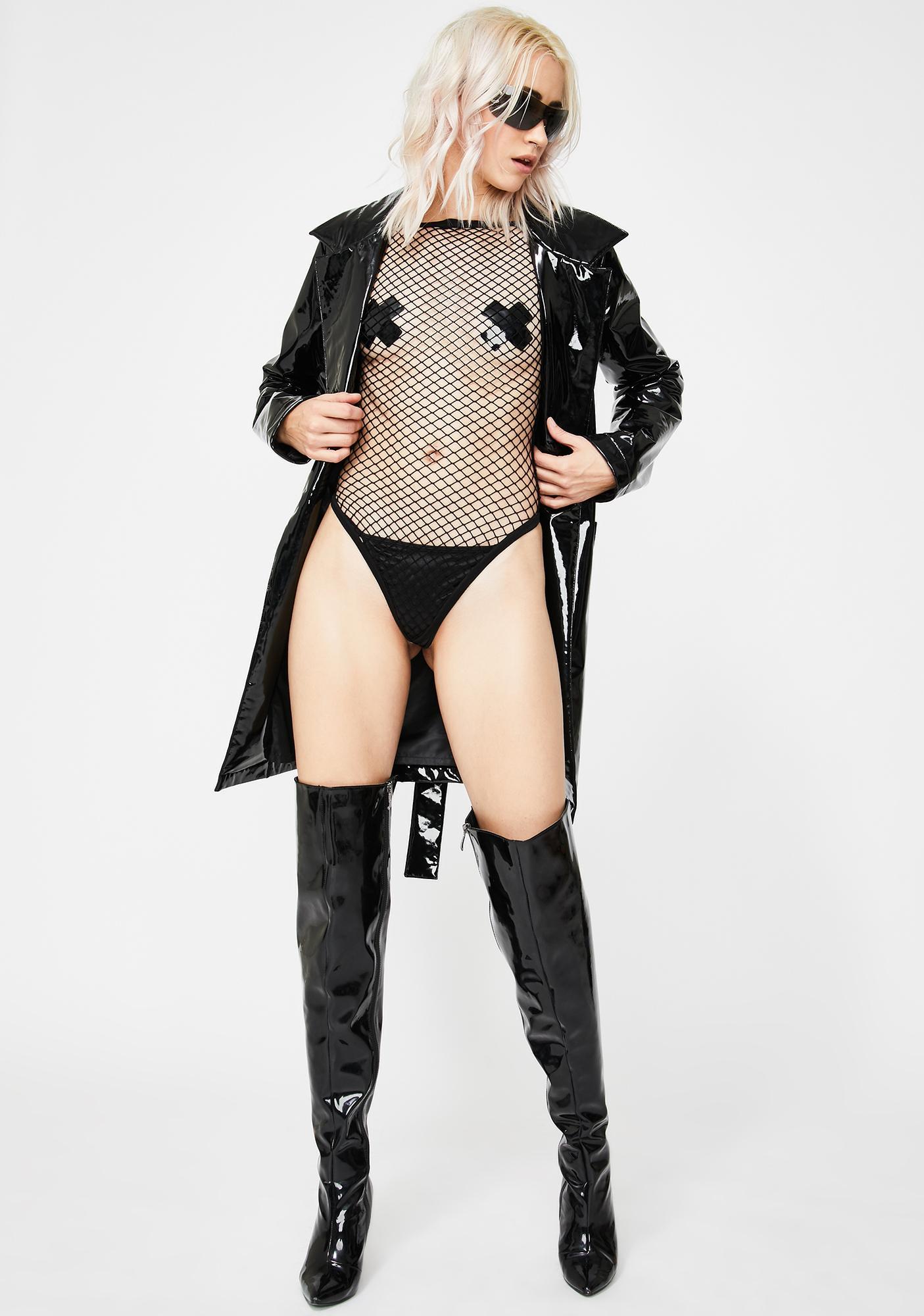 Lead You On Fishnet Bodysuit