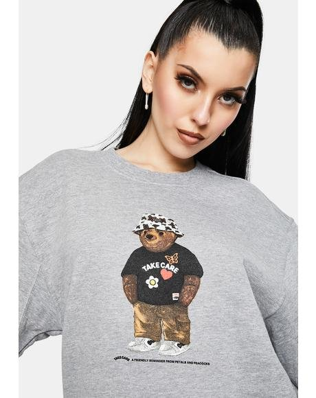 Take Care Bear Graphic Sweatshirt