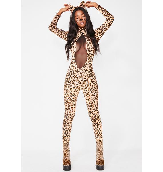 Jungle Kitty Sass Costume