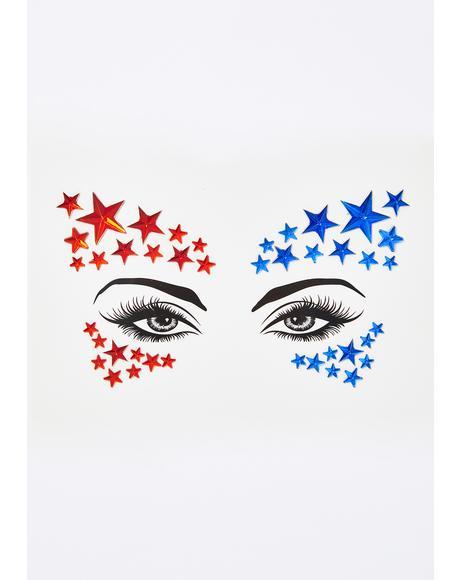 Americana Face Gems