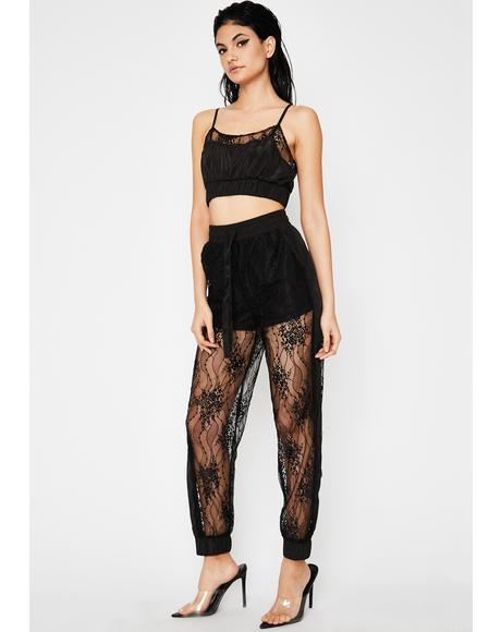 Wicked Zero Chill Lace Joggers