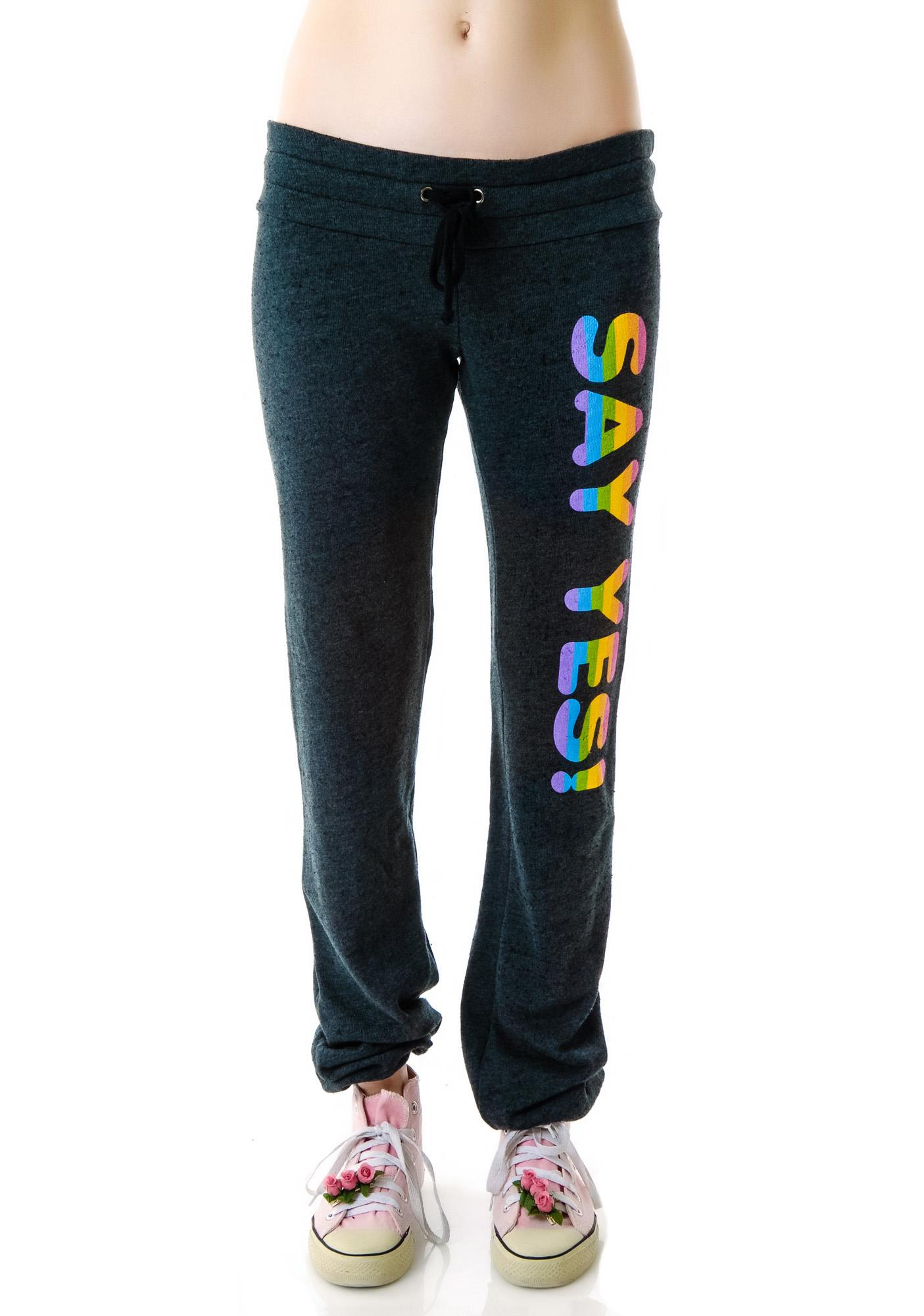 Wildfox Couture Say Yes Malibu Skinny Pants