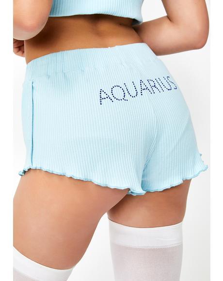 Aquarius AF PJ Shorts