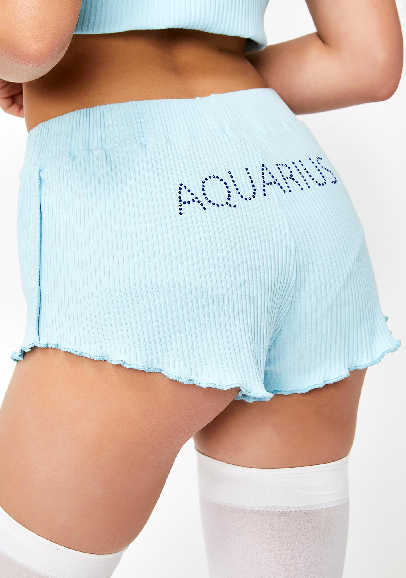 HOROSCOPEZ Aquarius AF PJ Shorts