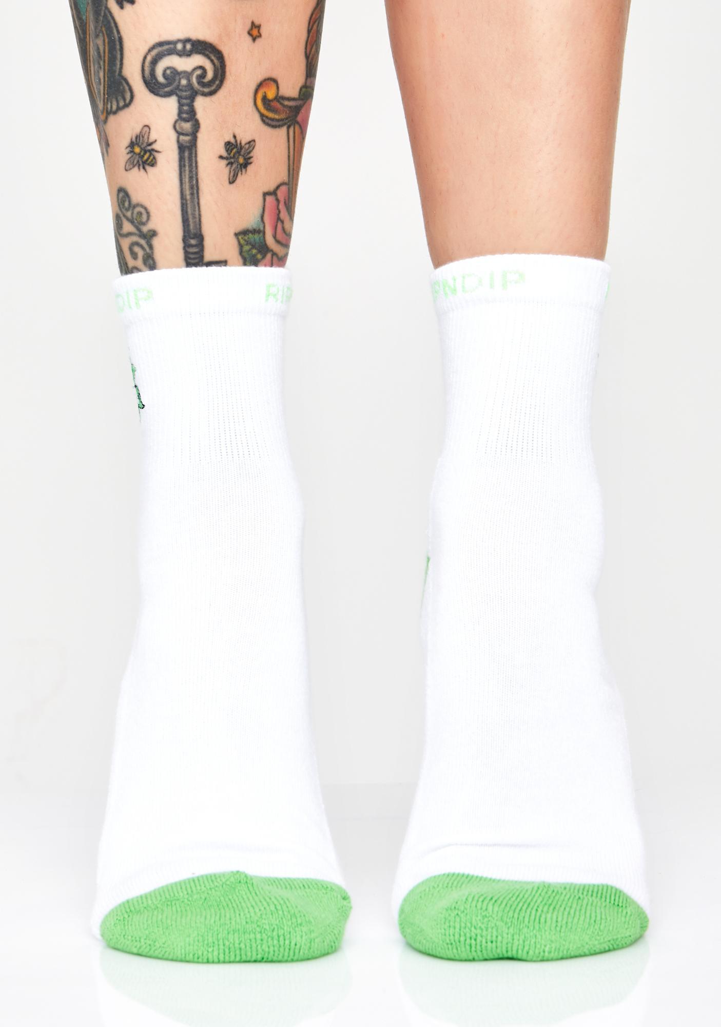 RIPNDIP Tucked In Graphic Socks