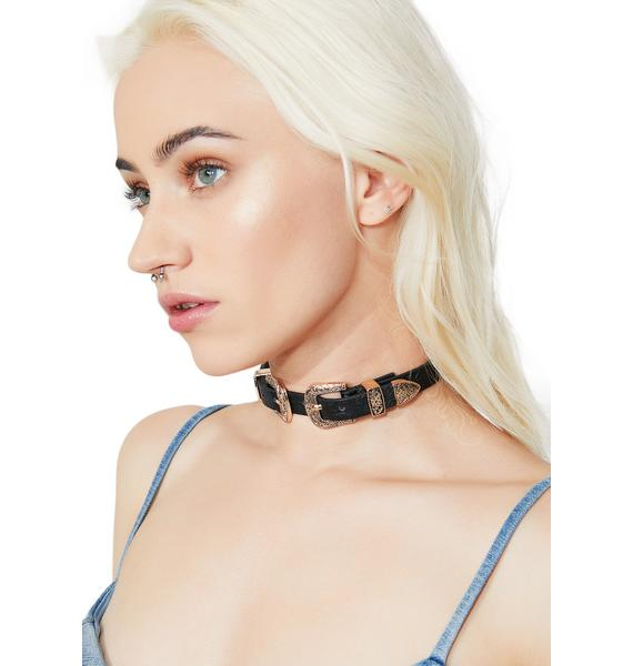 Buckle Up Choker