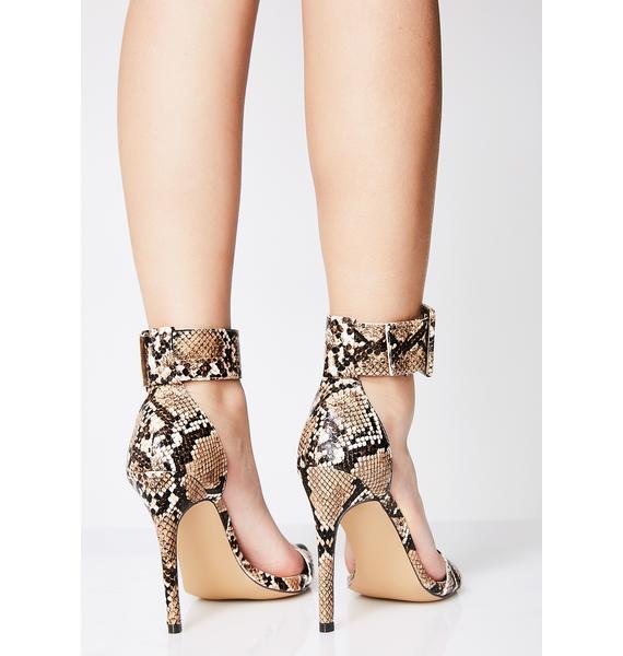 So Toxic Snake Heels