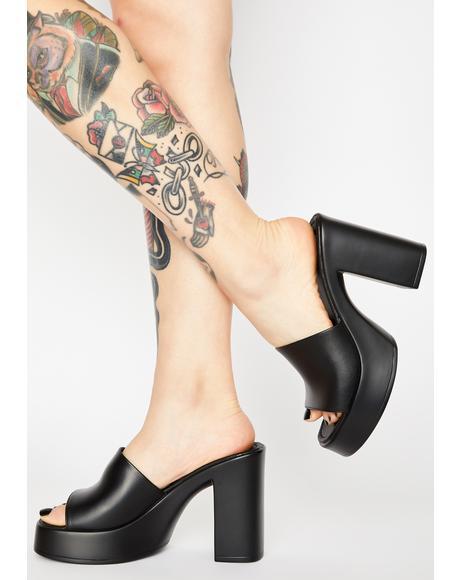 Nina Block Heels
