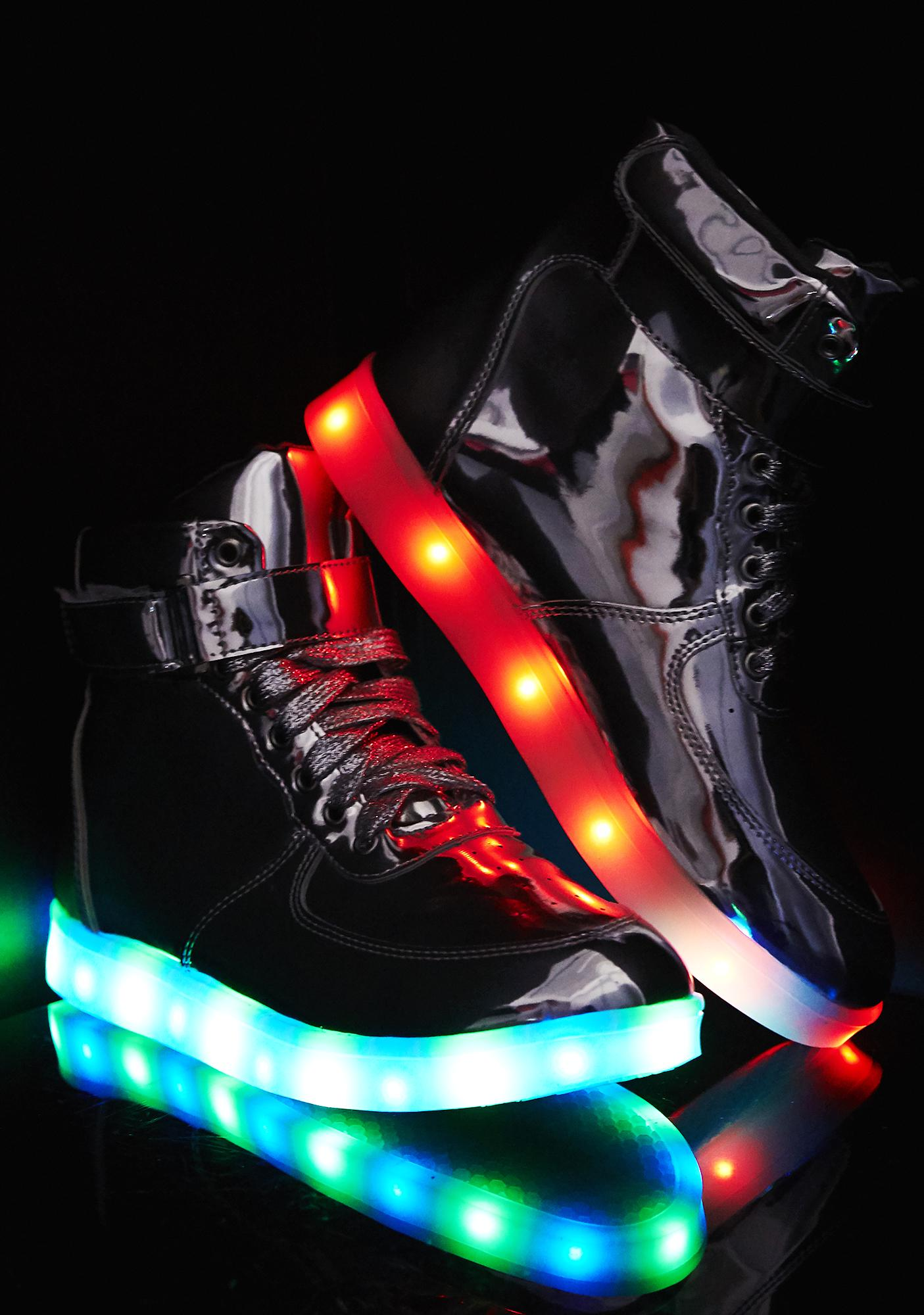 Moon Man Light Up Sneakers