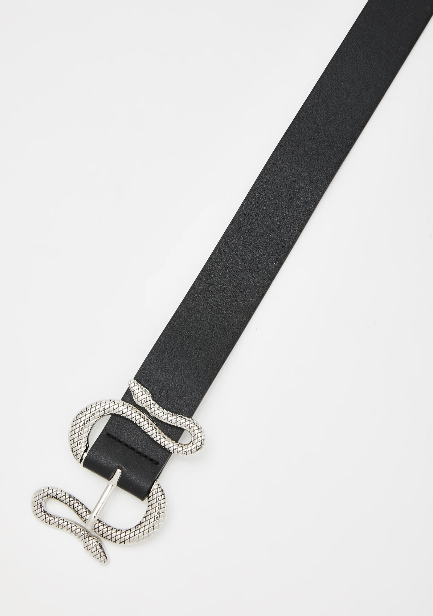 Toxic Intuition Snake Belt