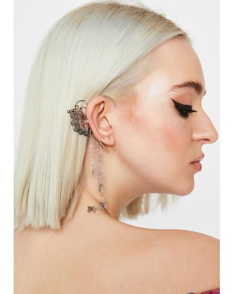 Amazing Butterfly Ear Cuff
