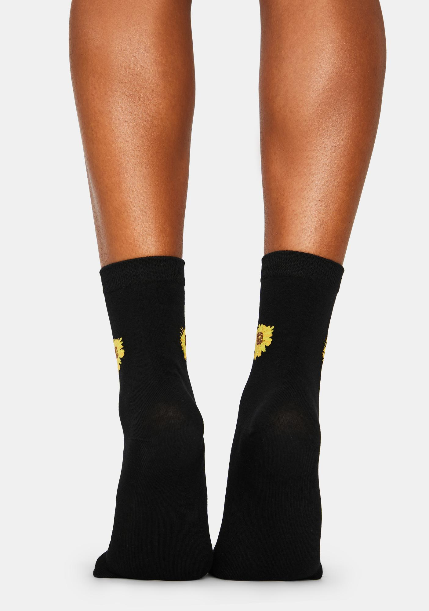 Sun Salutation Crew Socks