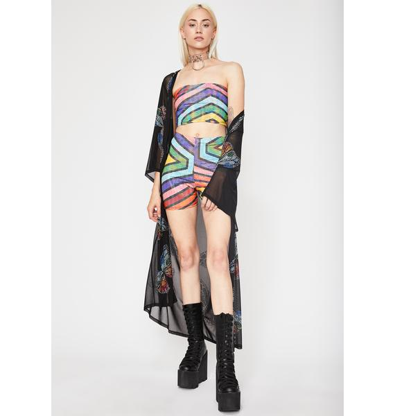 Rave Gal Rainbow Shimmer Set