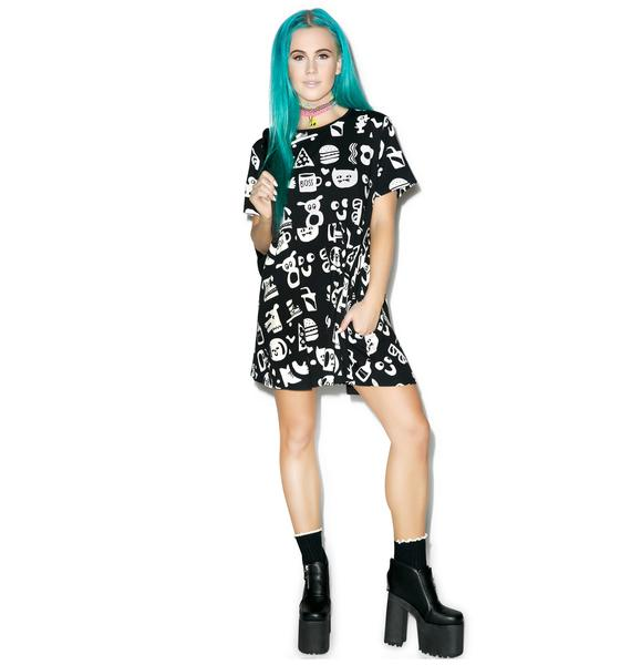Lazy Oaf Artefact Dress