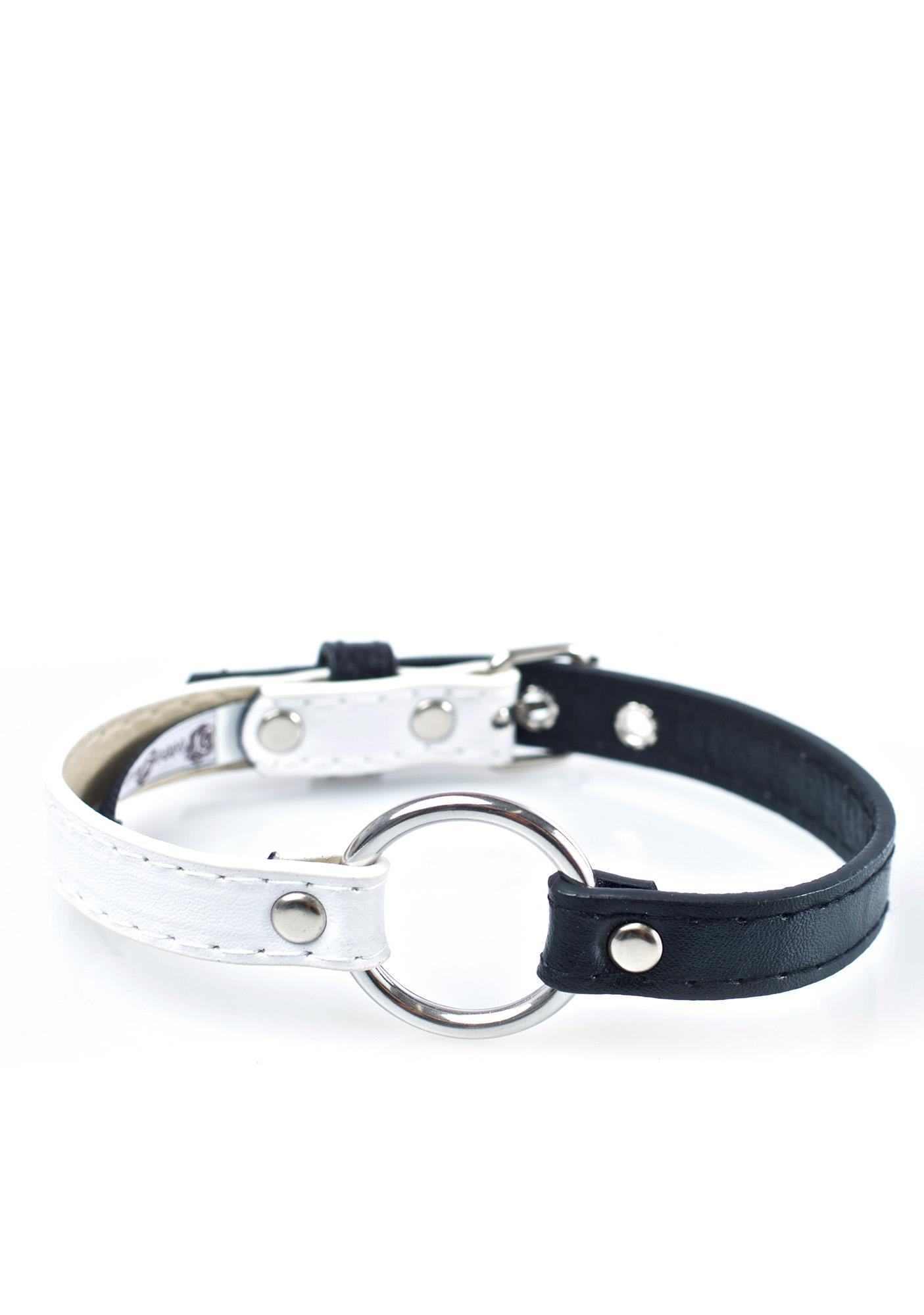 NecroLeather Cruella Faux Leather Choker