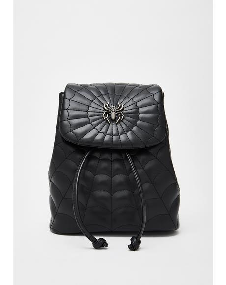 Creep It Real Spider Backpack