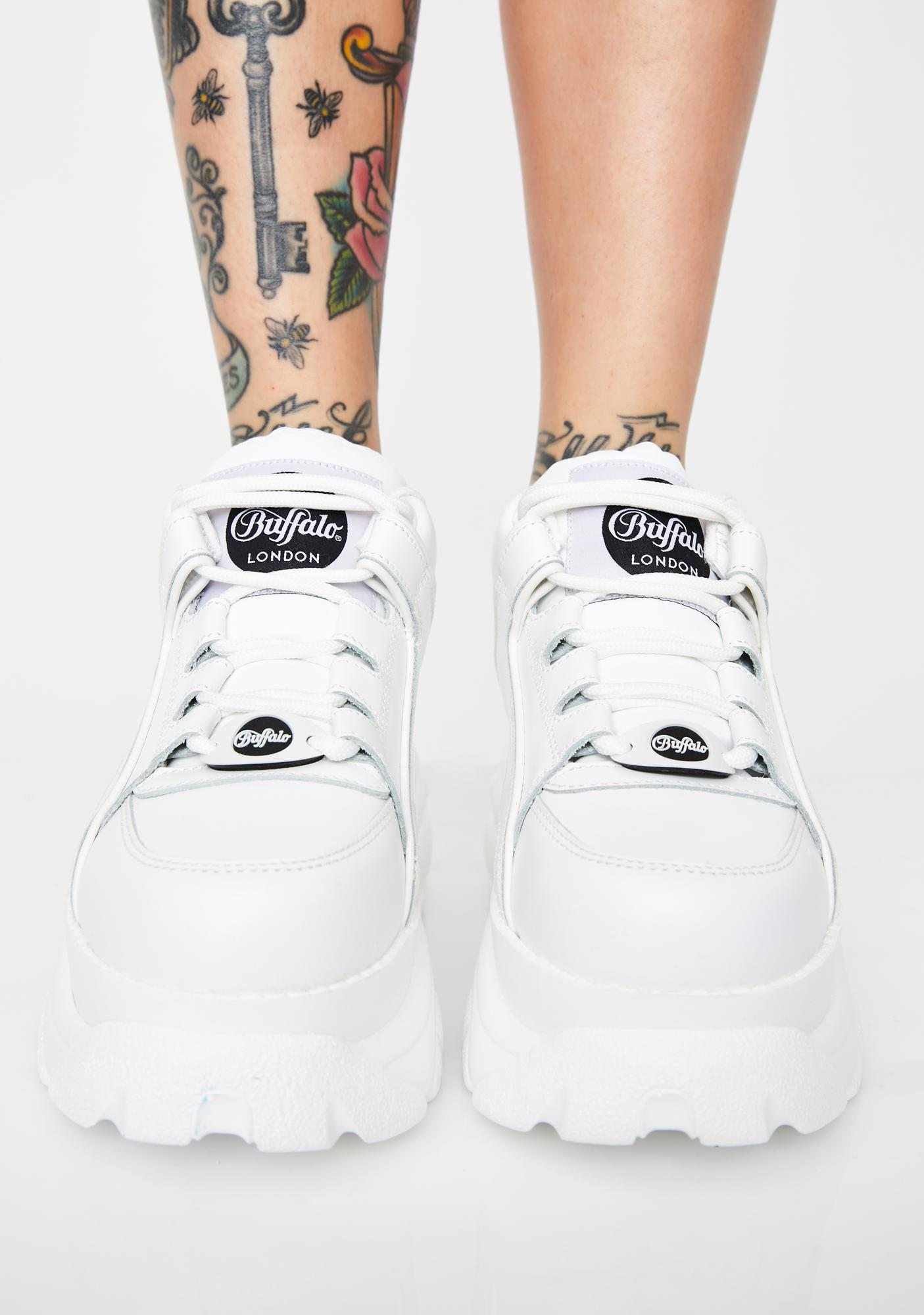 Buffalo London Pure Classic Low Leather Sneakers
