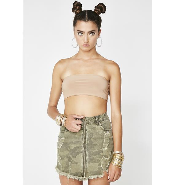 Jungle Bae Camo Skirt